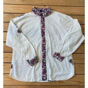 Vintage ROPER Long Sleeve Button Up Shirt Medium